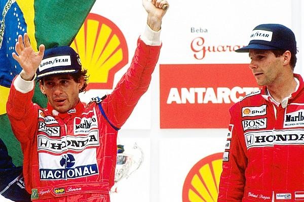 Berger revela como teve engenheiro 'roubado' por Senna