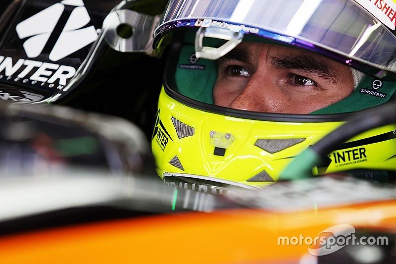 Sergio Pérez tendrá que remontar en Austria