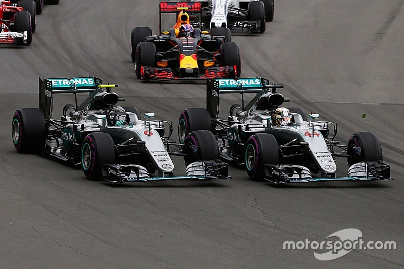 Mercedes bittet Lewis Hamilton und Nico Rosberg zum Krisengespräch