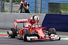 Pirelli herhaalt: Lekke band Vettel veroorzaakt door externe factor