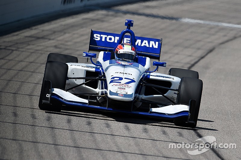 Stoneman brilla en la práctica de Indy Lights