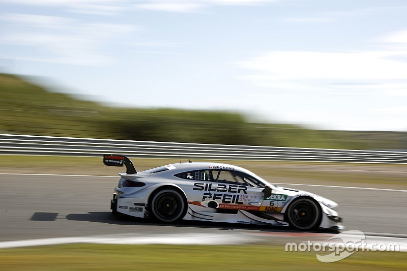 DTM in Zandvoort: Robert Wickens holt Pole-Position für Mercedes