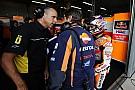 Warm-up Duitse GP: Pedrosa snel in de regen, Marquez crasht