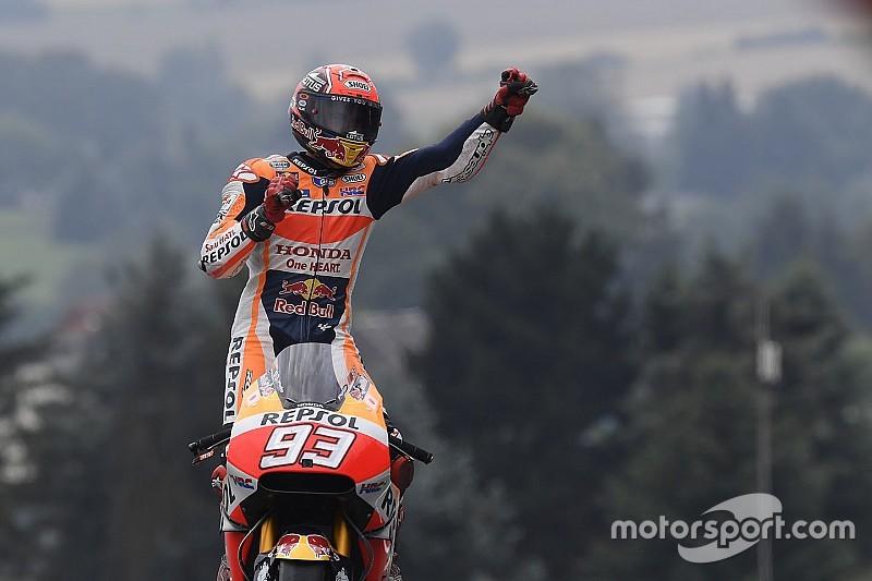 El equipo de Márquez reconstruyó en dos horas la moto con la que ganó