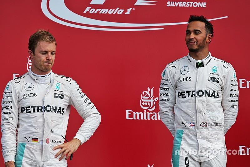 """Rosberg: """"Competitie zo extreem dat het lastig is om vrienden te zijn"""""""