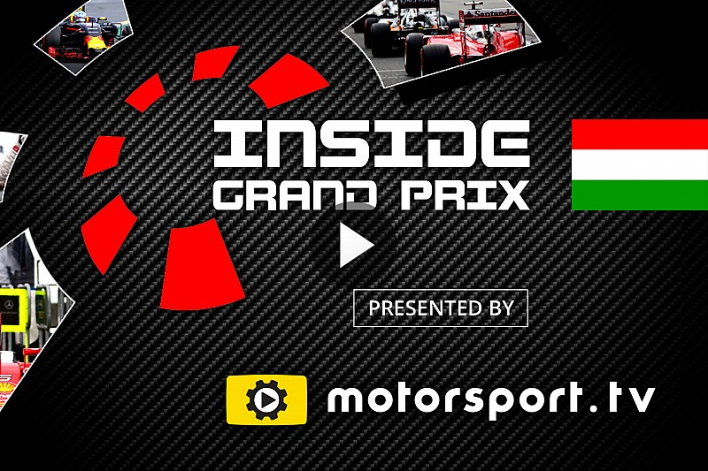 Video: Inside Grand Prix Ungarn 2016