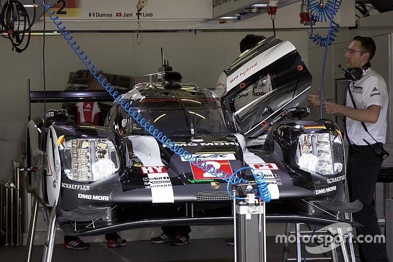 Onthuld: De nieuwe Porsche LMP1 aero kit