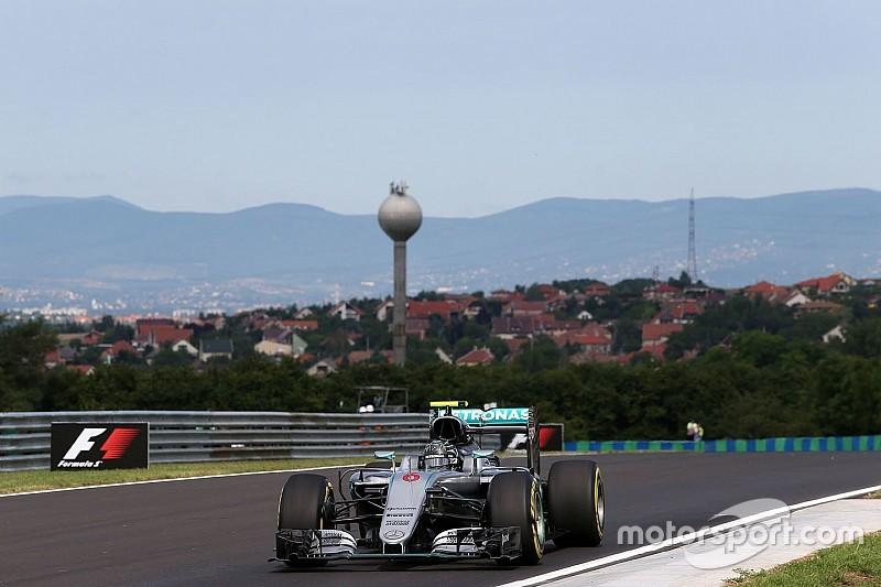 Formel 1 in Ungarn: Nico Rosberg fährt schnellste Zeit – Hamilton nach Crash nur Zuschauer