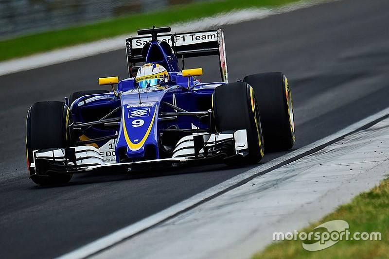 Marcus Ericsson partirà dalla pitlane con un nuovo telaio