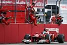 Ferrari, con hegemonía estadística en el GP de Alemania