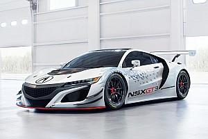 World Challenge Actualités L'Acura NSX GT3 prête pour ses premiers tests publics