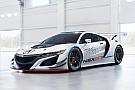World Challenge L'Acura NSX GT3 prête pour ses premiers tests publics