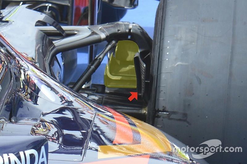 لمحة تقنيّة: قناة تهوية المكابح الخلفيّة لسيارة إس.تي.آر11