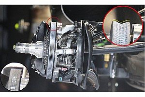 Formula 1 Analisi Mercedes: i dischi Carbon Industrie ora sono concavi