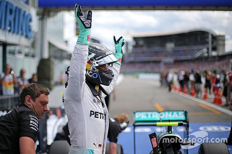 """Rosberg: """"Avevo benzina per riprovarci, ma ho fatto un gran giro"""""""