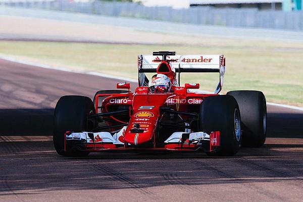 Formel 1 Bildergalerie: Erste Fotos vom Ferrari-Reifentest mit den neuen Formel-1-Pneus