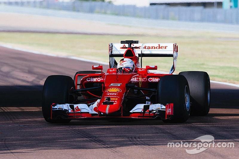 Bildergalerie: Erste Fotos vom Ferrari-Reifentest mit den neuen Formel-1-Pneus