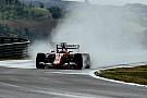 Fotogallery: Vettel e la Ferrari portano al debutto le Pirelli larghe