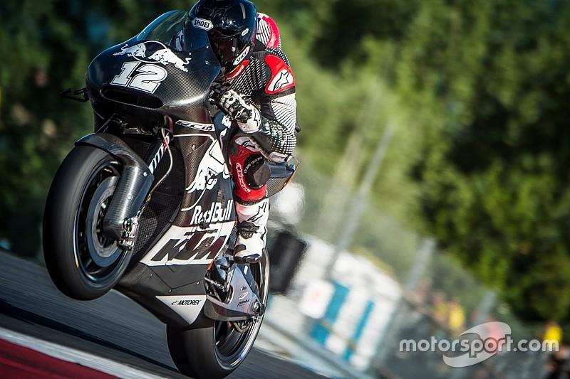 KTM официально представит новый мотоцикл на ГП Австрии