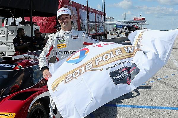 Bomarito alcanza la pole para Mazda