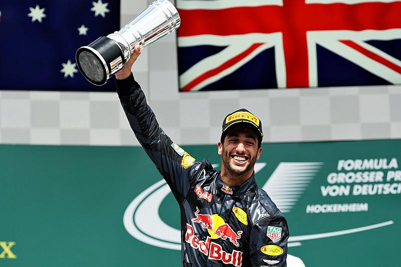 "Ricciardo: ""Si fijo la mirada en el premio, lo consigo"""