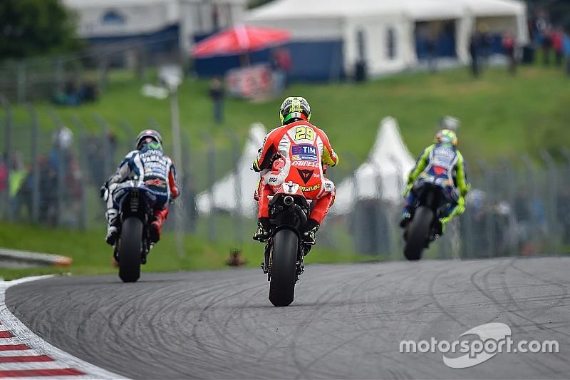 Die Startaufstellung zum MotoGP-Rennen in Spielberg in Bildern