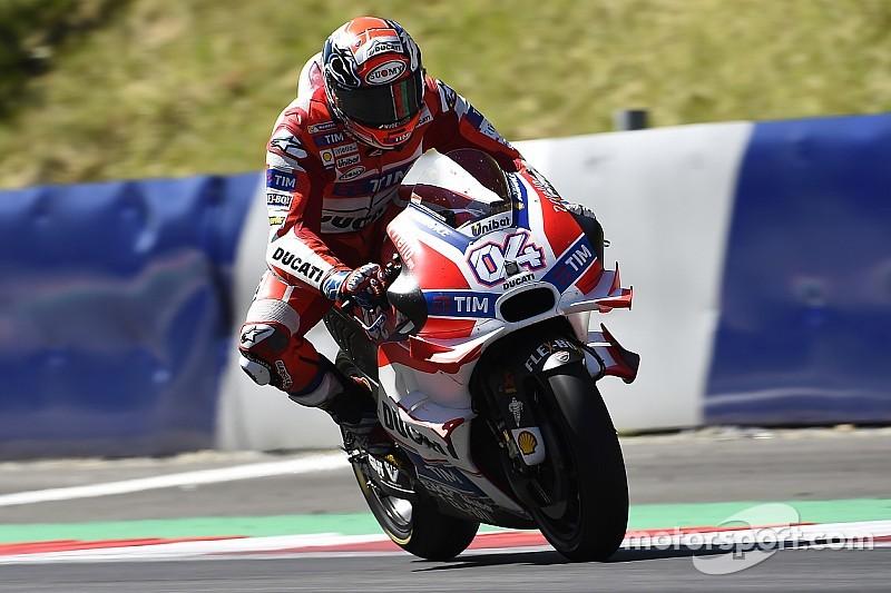 """Dovi: """"A Brno la moto deve girare bene. Non è il nostro punto di forza, ma..."""""""