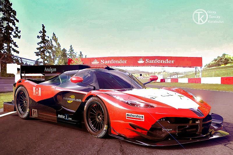 Designer turco mostra conceito de Ferrari para o WEC em 2020