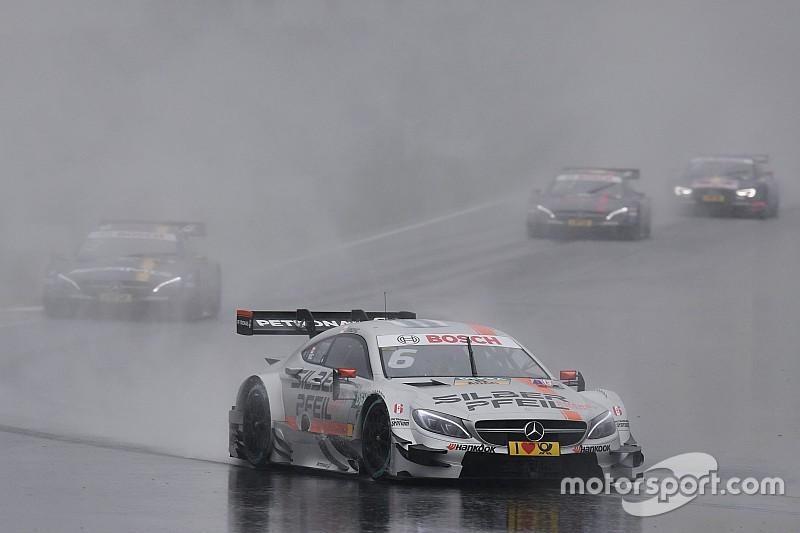 DTM Moskou: Wickens grijpt de macht na overwinning in kletsnatte eerste race