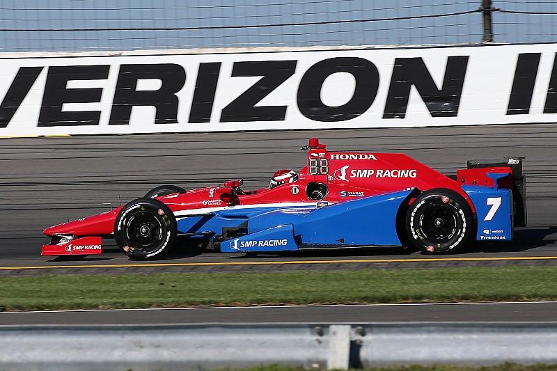 Pocono: Erste IndyCar-Pole für Mikhail Aleshin