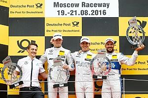 DTM Relato da corrida Wickens vence sob chuva em Moscou e lidera; Farfus é 14º