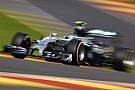 Mercedes wil Rosberg tijdens VT1 in België met halo laten rijden
