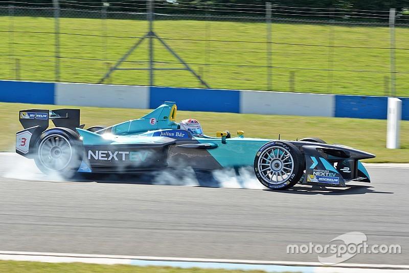 Bildergalerie: Formel-E-Test in Donington