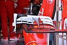 Tech update: Ferrari test verschillende voorvleugels in Spa
