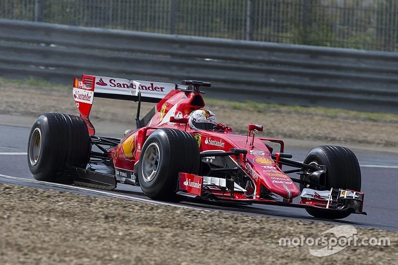 Vettel neemt meer 2017 Pirelli-tests voor zijn rekening