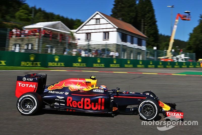 Formel 1 in Spa: Max Verstappen mit Bestzeit im zweiten Training