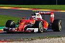 Raikkonen rapste in laatste training, technische problemen bij Verstappen