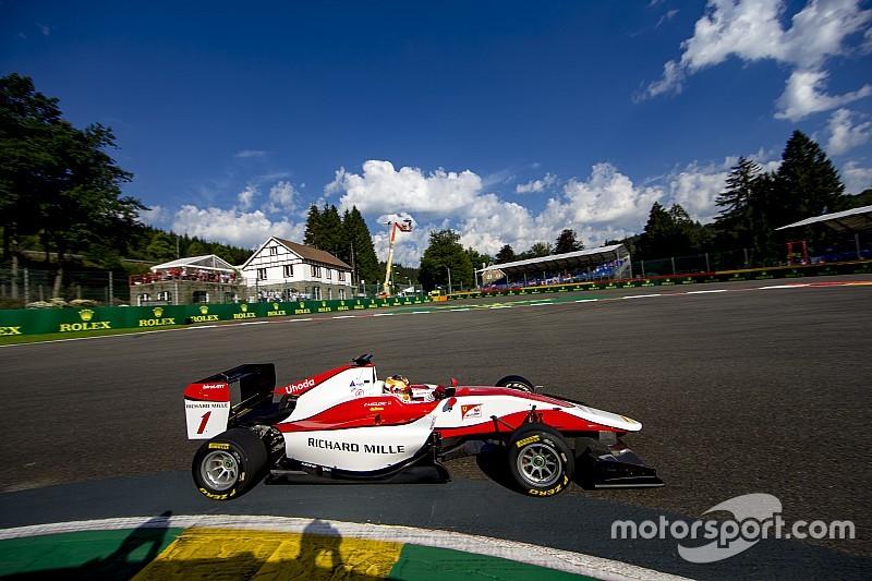 Leclerc consigue la victoria de GP3 en Bélgica
