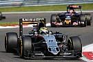 Velocità massime: Perez a 358,2 km/h a Spa. E dietro ci sono le due Ferrari!