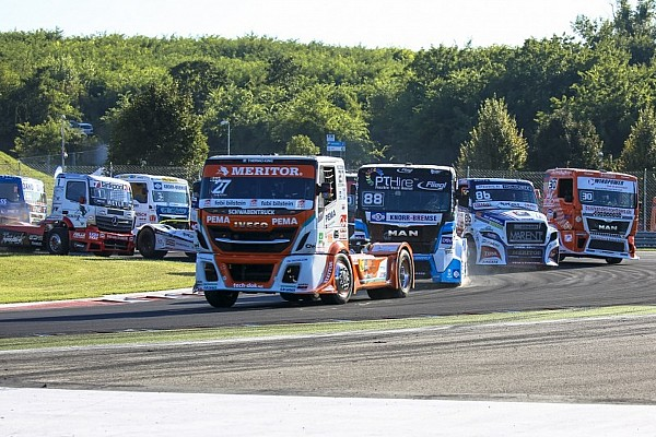Video: Die Höhepunkte der Truck-EM am Hungaroring