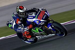 MotoGP Laporan tes Tes MotoGP Qatar: Lorenzo tercepat, Rossi terjatuh