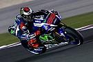 Tes MotoGP Qatar: Lorenzo tercepat, Rossi terjatuh