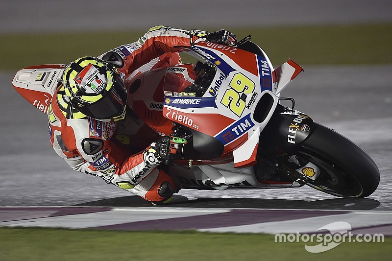 FP3 MotoGP Qatar: Iannone pertahankan Ducati di posisi teratas