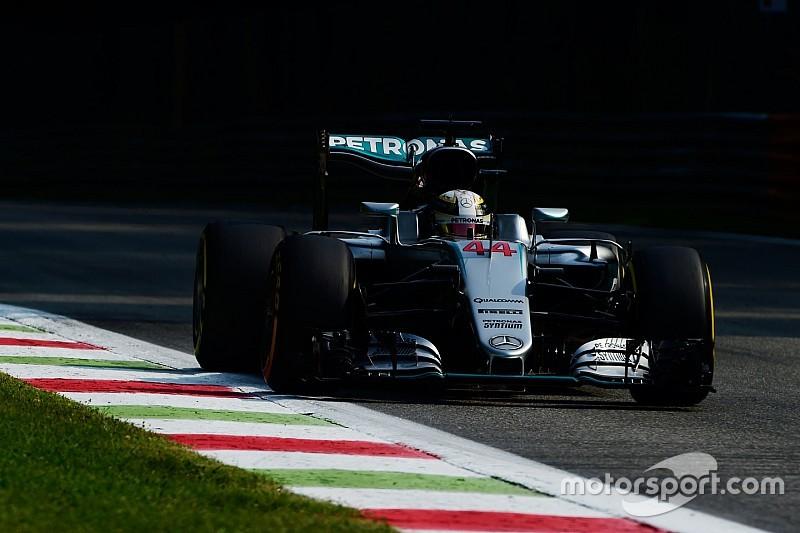 Formel 1 in Monza: Wieder Mercedes-Bestzeit, aber Ferrari holt auf