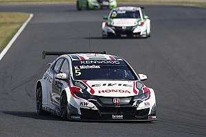 WTCC Reporte de la carrera Michelisz lidera un 1-2-3 de Honda en la primera carrera