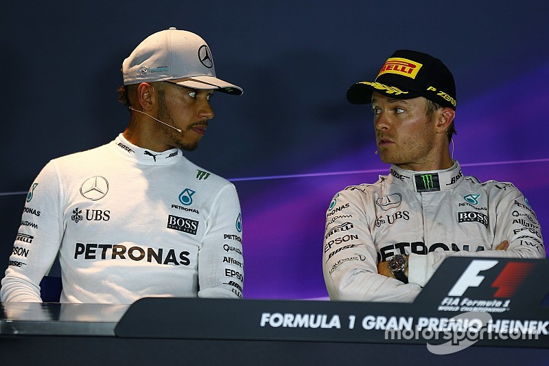 Mercedes se declara preparado para la batalla Hamilton/Rosberg