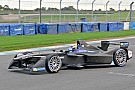 Buemi snelste tijdens laatste dag Formule E-test, Frijns veertiende