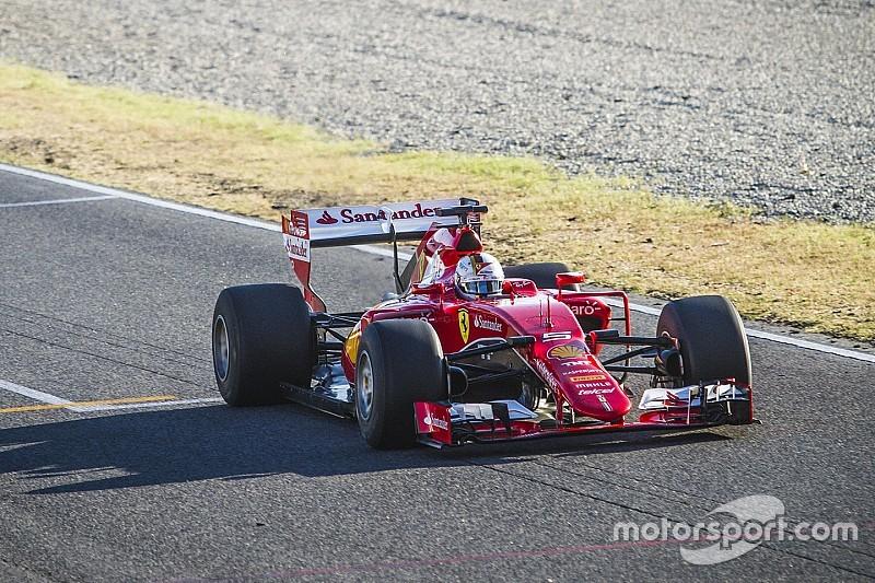 Vettel rondt tweedaagse bandentest op Barcelona af