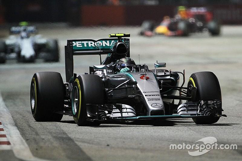 Formel 1 in Singapur: Wird Mercedes wieder von der Konkurrenz abgehängt?