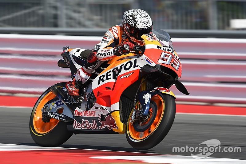 Derde vrije training GP San Marino: Marquez leidt voor Lorenzo